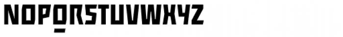 ocr-t 09 Black Font UPPERCASE