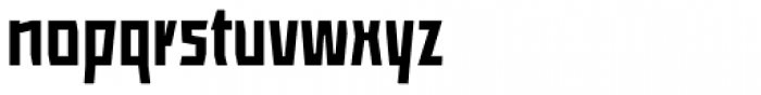ocr-t 09 Black Font LOWERCASE