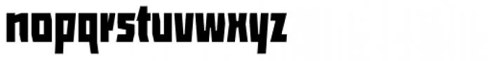 ocr-t 10 Jetblack Font LOWERCASE