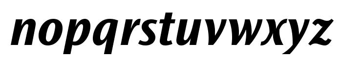 OceanSansStd-BoldIta Font LOWERCASE