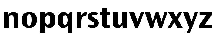 OceanSansStd-BoldSemiExt Font LOWERCASE