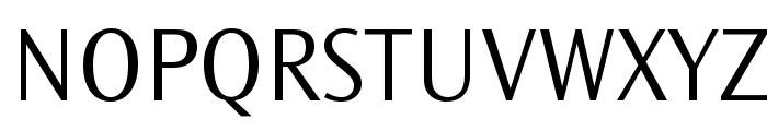 OceanSansStd-Light Font UPPERCASE