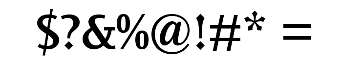 OceanSansStd-Semibold Font OTHER CHARS