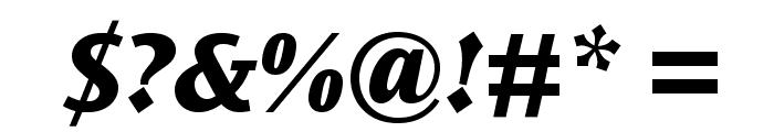 OceanSansStd-XBoldIta Font OTHER CHARS