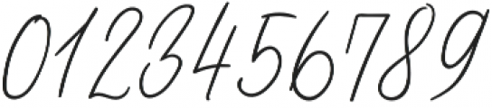 Odour Regular otf (400) Font OTHER CHARS
