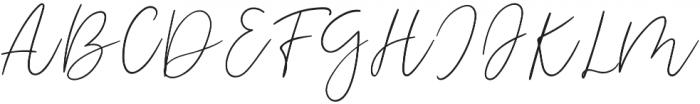 Odour Regular otf (400) Font UPPERCASE