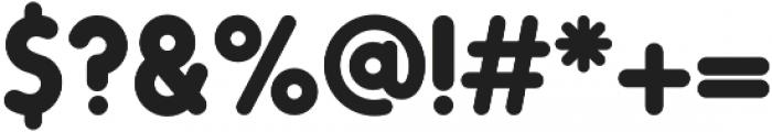 Oduda Bold otf (700) Font OTHER CHARS
