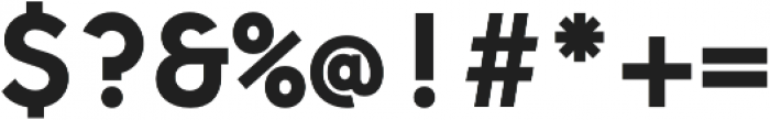 Odudo Mono Semi Bold otf (600) Font OTHER CHARS