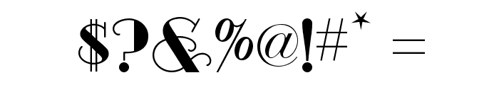 Odalisque NF Font OTHER CHARS