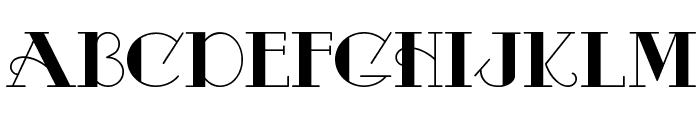 Odalisque Font UPPERCASE