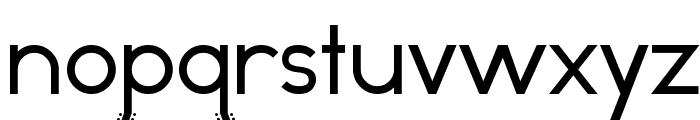 Odd Dog Regular Font LOWERCASE