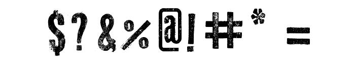 Odd Press Font OTHER CHARS