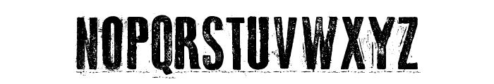 Odd Press Font UPPERCASE