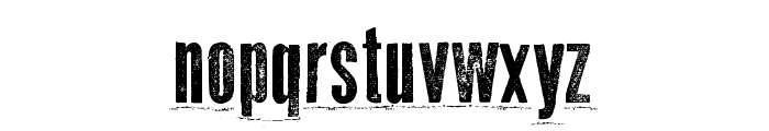 Odd Press Font LOWERCASE