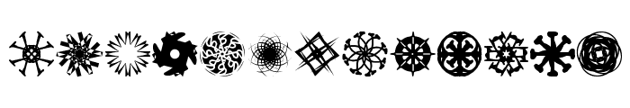 OddBats Font LOWERCASE