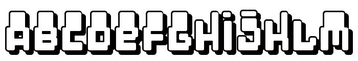 Oddessey 7000 Font UPPERCASE