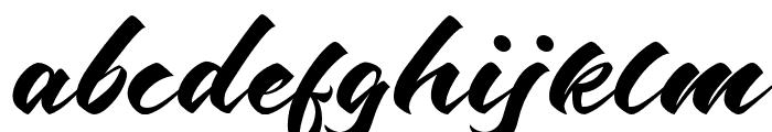 Odenson Regular Font LOWERCASE