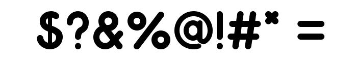 Odin-Bold Font OTHER CHARS