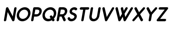Odin Rounded Bold Italic Font UPPERCASE