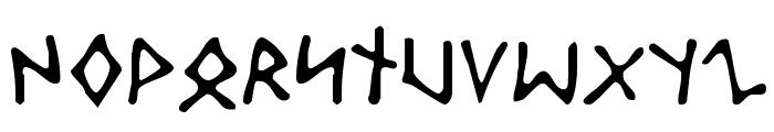 Odinson Light Font UPPERCASE