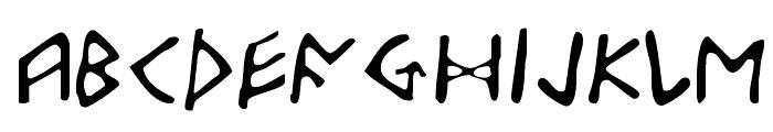 Odinson Light Font LOWERCASE