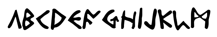 Odinson Font UPPERCASE