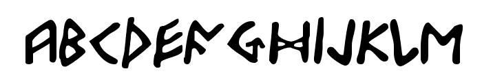 Odinson Font LOWERCASE
