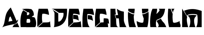 Odishi Font UPPERCASE