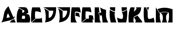 Odishisw Font UPPERCASE