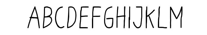 Odum Odum Font UPPERCASE