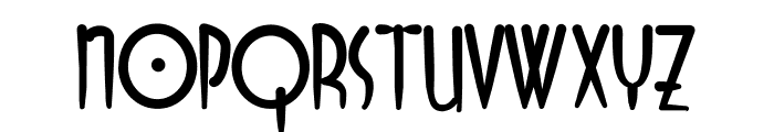Odyssey Font LOWERCASE