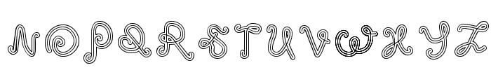 odd ethnic Font LOWERCASE