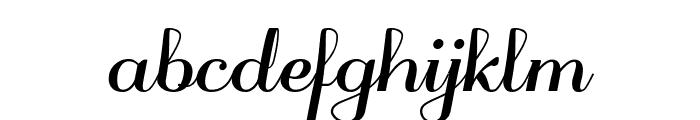 odstemplik Bold Font LOWERCASE