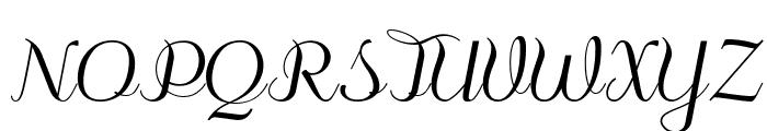odstemplik Font UPPERCASE