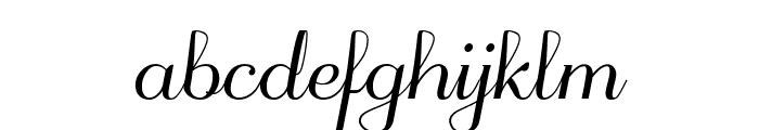 odstemplik Font LOWERCASE