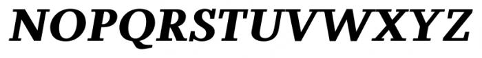 Odile Black Italic Font UPPERCASE