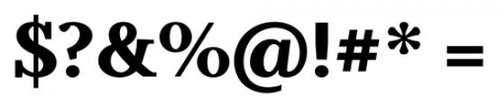 Odile Black Font OTHER CHARS