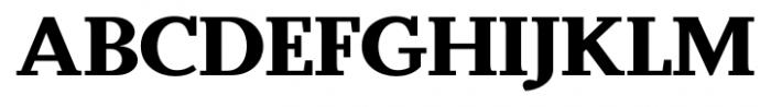 Odile Black Font UPPERCASE