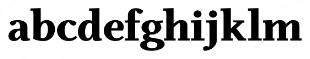 Odile Black Font LOWERCASE