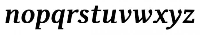 Odile Bold Italic Font LOWERCASE