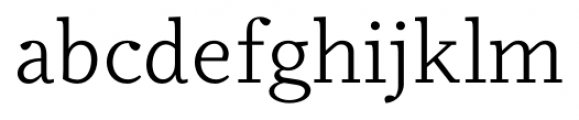 Odile Book Font LOWERCASE