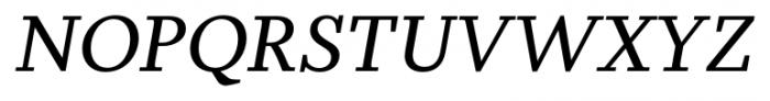 Odile Italic Font UPPERCASE
