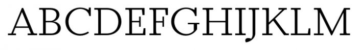 Odile Light Font UPPERCASE