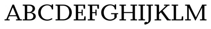 Odile Regular Font UPPERCASE