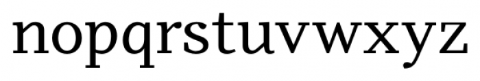 Odile Regular Font LOWERCASE