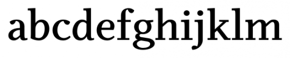 Odile Semi Bold Font LOWERCASE