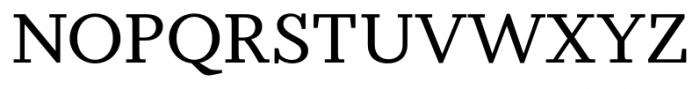 Odile Upright Italic Font UPPERCASE