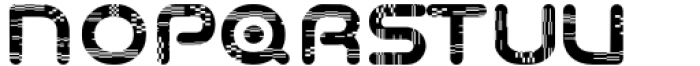 Odaiba Soul Glitch Font UPPERCASE