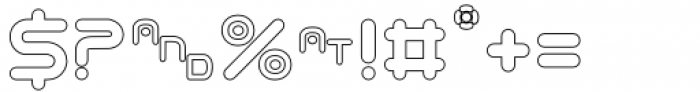 Odaiba Soul Hollow Font OTHER CHARS