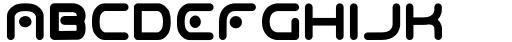 Odaiba Soul Regular Font LOWERCASE